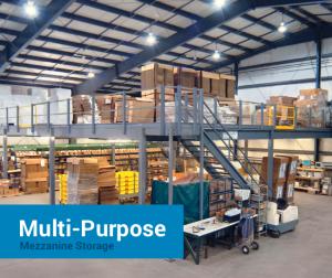Cogan Multi-Purpose Storage Mezzanines