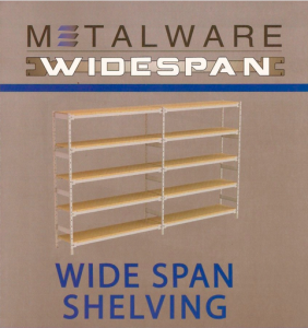 Metalware Widespan Shelving
