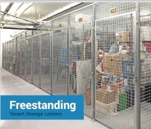 Cogan Free Standaing Tenant Storage Lockers