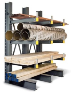 Cogan Single Sided Cantilever Rack