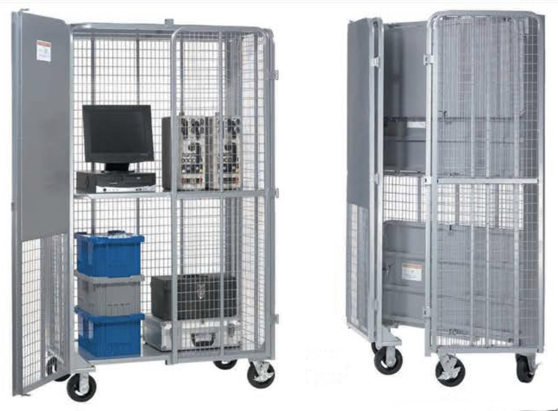 Nexel Wire Fold Up Security Trucks | Prime Alliance Marketing