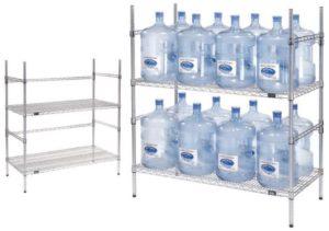 241e20e441e Nexel Wire 5 Gallon Water Bottle Storage Rack